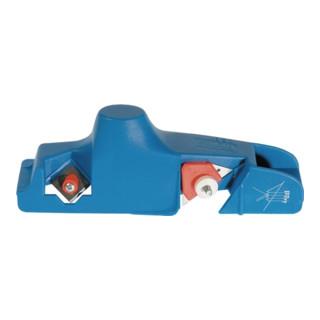 Kantenhobel L.235 mm blau mit Doppelklinge