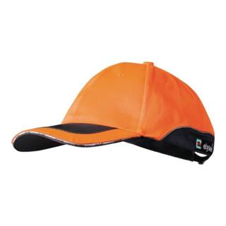 Kappe 53-61cm orange 80 %PES/20 %CO ELYSEE