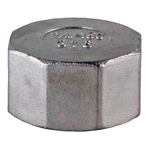 Kappe EN 10226-1 NPS=1 Zoll 8-kant L 22mm SPRINGER