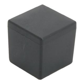 Kappe für Quadratrohr Länge 30mm Breite 30mm PE schwarz quadratisch
