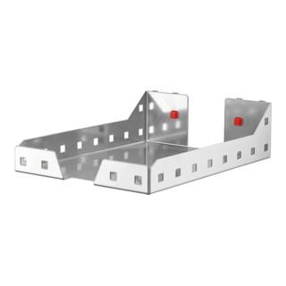 Kappes Dokumentenablage RasterPlan/ABAX alufarben