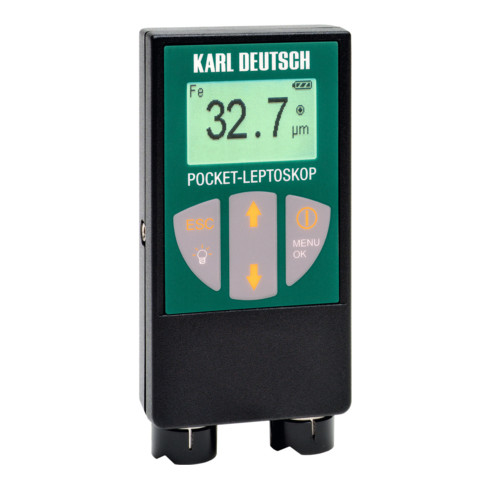 Karl DEUTSCH Schichtdickenmessgerät Pocket Leptoskop, Typ: 2026
