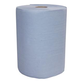 Katrin BASIC LINE Putzpapier Rollen 2-lagig, blau, 38x36cm, 2*500 Blatt