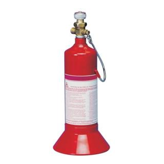 Kayser-Werk Propan Kleinstflasche 425g, G 3/8 LH mit Standfuß