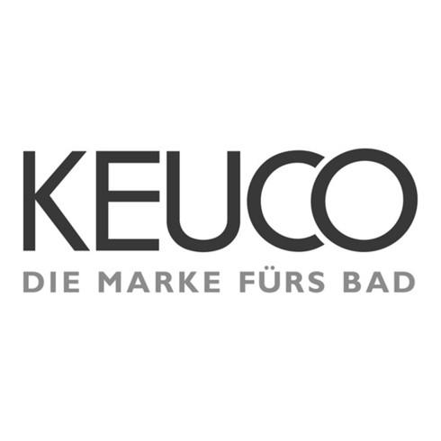 Keuco Einhebel-Waschtischmischer 110 EDITION 11 ohne Zugstangen-Ablaufgarnitur verchromt