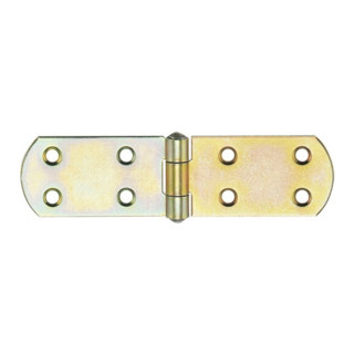 Kistenband H.40mm B.geöffnet 500mm S.2,75mm STA galv.gelb verz.