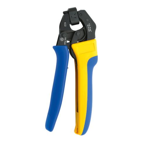 Klauke Presswerkzeug für Aderendhülsen und Zwillingsaderendhülsen 0,14 - 6 mm²