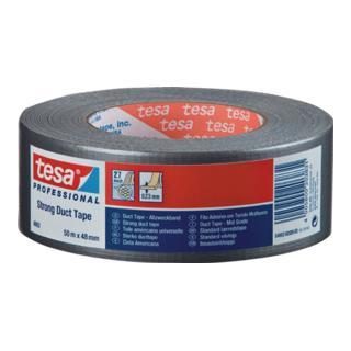 Gewebeklebeband tesa 4662 silber Gewebe, PE-beschichtet Rolle 50mx48mm