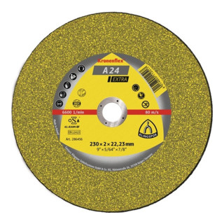Klingspor A 24 EX Trennscheiben, 115 x 2,5 x 22,23 mm gekröpft
