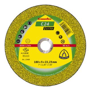 Klingspor C 24 EX Trennscheiben, 115 x 2,5 x 22,23 mm gekröpft