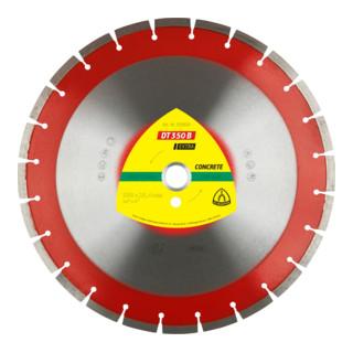 Klingspor DT 350 B Diamanttrennscheiben, 28 Segmente  Standardverzahnung standard