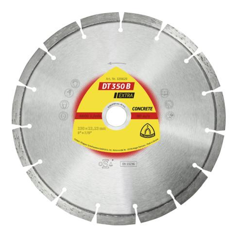Klingspor DT 350 B Diamanttrennscheiben, Standardverzahnung 22.23 mm standard