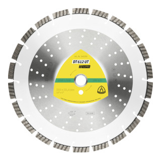 Klingspor DT 612 UT Diamanttrennscheiben, Standard Turbo