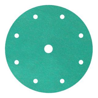 Klingspor FP 77 K Scheiben kletthaftend wirkstoffbeschichtet, Lochform GLS1 150 mm