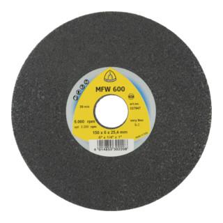 Klingspor MFW 600 Kompaktscheiben, Siliziumkarbid