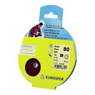 Klingspor Scheibe / kletthaftend PS 22 K, L 125 GLS5