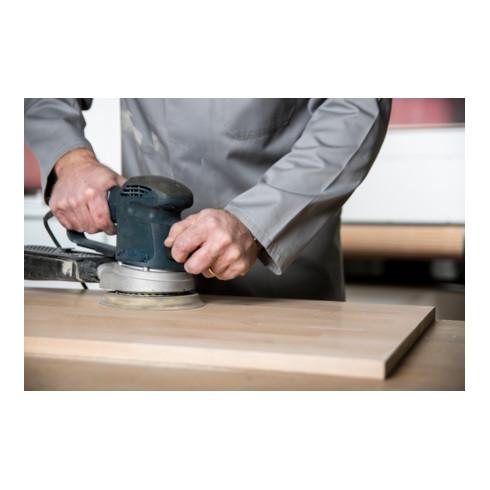 Klingspor Scheibe PS 22 K mit Papierunterlage, kletthaftend für Holz, Metall Universal, ohne Loch