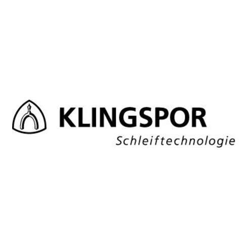 Klingspor Schleifband CS 411 Y, LxB 75X2000, Korn 120, F4G