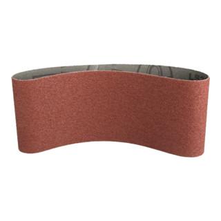 Klingspor Schleifband für Handbandschleifer LS 309 XH, LxB 75X610, Korn 80, F5