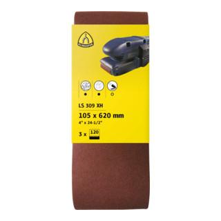 Klingspor Schleifband für Handbandschleifer SB-Verpackt LS 309 XH, LxB 75X457, Korn 40, F5
