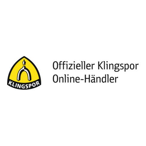 Klingspor Schleifmoprad NCW 600, LxBxH 100X50X19, Korn 80 , rotbraun