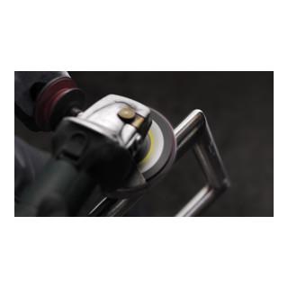 Klingspor SMT 850 Schleifmopteller Kombination, 125 x 22,23 mm Korn 120 Very Fine gewölbt, grün