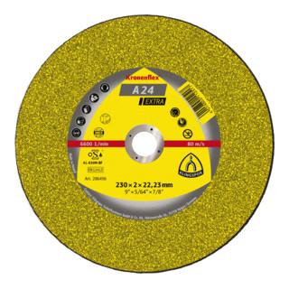 Klingspor Trennscheibe A 24 Extra Kronenflex® für Metall Universal