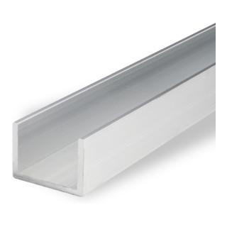 Klöckner Aluminium U-Profil EN AW-6060, unbehandelt