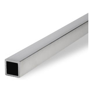 Klöckner Aluminium Vierkantrohr EN AW-6060, unbehandelt