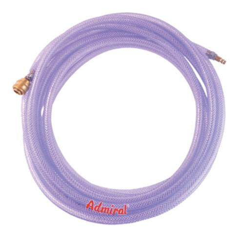 Klotz Druckluftset m.Kuppl.AdmiClear TX 9x3 mm,10m PVC-Schl.m.Gew.