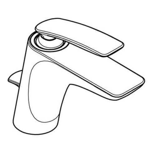 """Kludi Waschtisch-Einhandmischer BALANCE DN 15 Ablaufgarnitur G 1 1/4"""" chrom"""