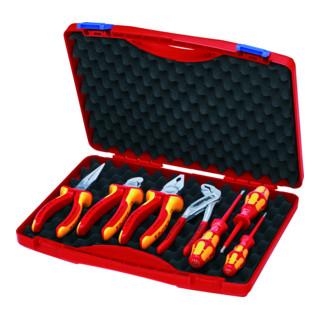KNIPEX 00 21 15 Werkzeug-Box ''RED'' Elektro Set 2 325 mm