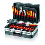 """KNIPEX 00 21 20 Werkzeugkoffer """"Vision24"""" Elektro"""