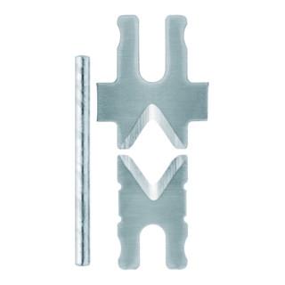 KNIPEX 12 69 21 1 Paar Ersatzmesser für 12 62 180