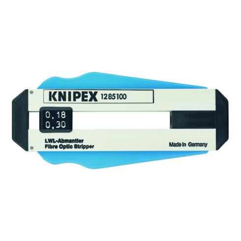 KNIPEX 12 85 100 SB Abisolierwerkzeug für Glasfaserkabel 100 mm