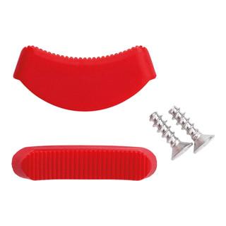 Knipex 2 Paar Kunststoffbacken für Siphon- und Connectorenzange 81 11 250 / 81 13 250 für Siphons, Kunststoffrohre und Connectoren