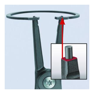Knipex Präzisions-Sicherungsringzange für Außenringe mit rutschhemmendem Kunststoff überzogen