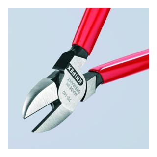 KNIPEX 70 01 140 Seitenschneider schwarz atramentiert 140 mm