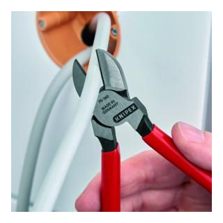 KNIPEX 70 01 160 Seitenschneider schwarz atramentiert 160 mm