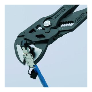 KNIPEX 86 02 250 Zangenschlüssel Zange und Schraubenschlüssel in einem Werkzeug 250 mm