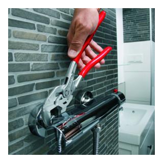 KNIPEX 86 43 250 Zangenschlüssel Zange und Schraubenschlüssel in einem Werkzeug verchromt 250 mm