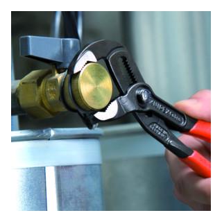 KNIPEX 87 01 180 Cobra® Hightech-Wasserpumpenzange grau atramentiert 180 mm