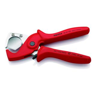 KNIPEX 90 20 185 PlastiCut® Schlauch- und Schutzrohrschneider 185 mm