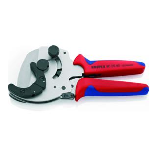 KNIPEX 90 25 40 Rohrschneider für Verbund- und Kunststoffrohre verzinkt 210 mm