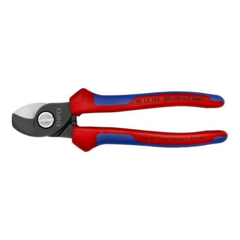 KNIPEX 95 12 165 Kabelschere brüniert 165 mm