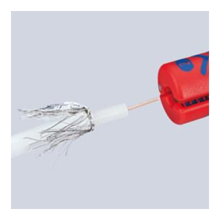 Knipex Abisolierwerkzeug für Koax-Kabel 100 mm
