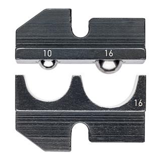 Knipex Crimpeinsatz für isolierte Kabelschuhe und Steckverbinder 10/16 mm²