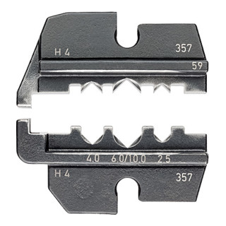 Knipex Crimpeinsatz für Solar-Steckverbinder Helios H4 Amphenol