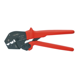 Knipex Crimpzange 250mm für uinisolierte Kabelschuhe und Steckverbinder 16/25mm²