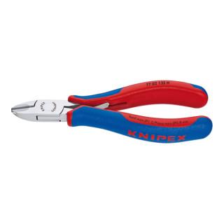 Knipex Elektronik-Seitenschneider mit eingesetzter Hartmetallschneide 135 mm